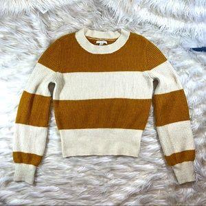 AMERICAN EAGLE Long sleeve striped sweater